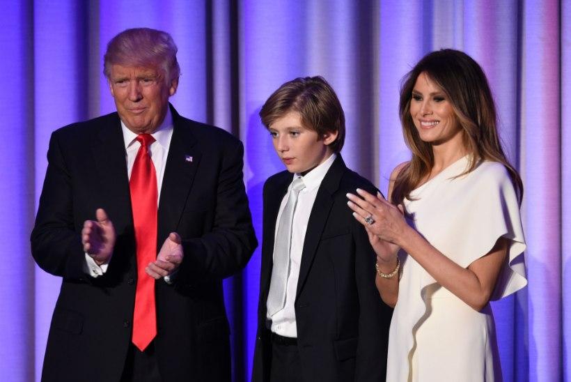 SKANDAAL: Trumpi noorimat poega Barronit peetakse autistlikuks