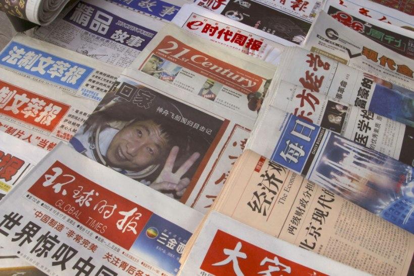"""SELETAMATU HELI: Hiina esimest astronauti ehmatas """"koputus"""" vastu kosmoselaeva"""