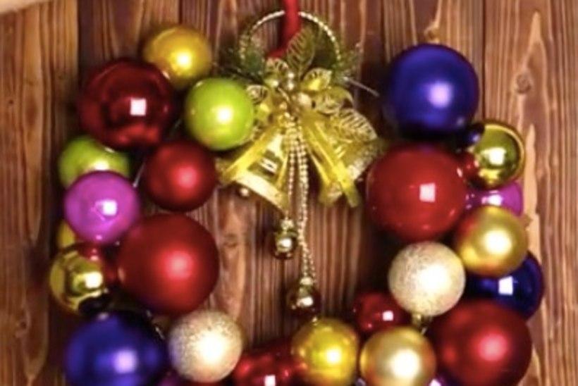 Tee riidepuust uhke jõulupärg