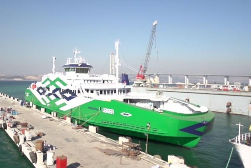 Parvlaev Leiger seilab koduteel, Eestisse jõuab 3-4 nädala pärast
