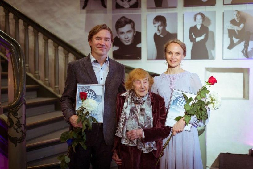 Leida Rammo Linnateatri fondi stipendiumid pälvisid Külli Teetamm ja Indrek Ojari