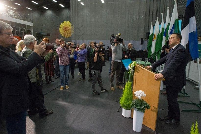Keskerakonna poliitiline avaldus toetab peaministri umbusaldamist ja uue valitsuse moodustamist
