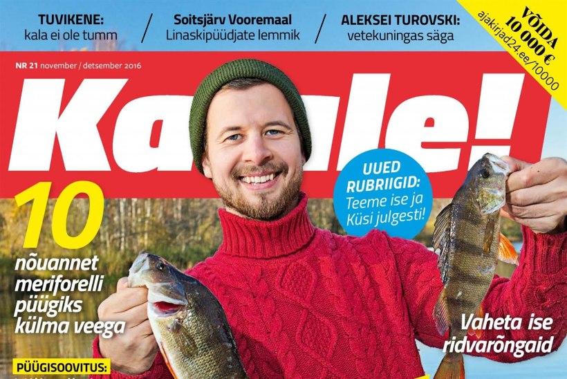 Ajakirja Kalale! uus number ilmunud