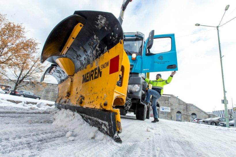 7 tonni soola ehk Kuidas tänavad lumest puhtaks saavad?