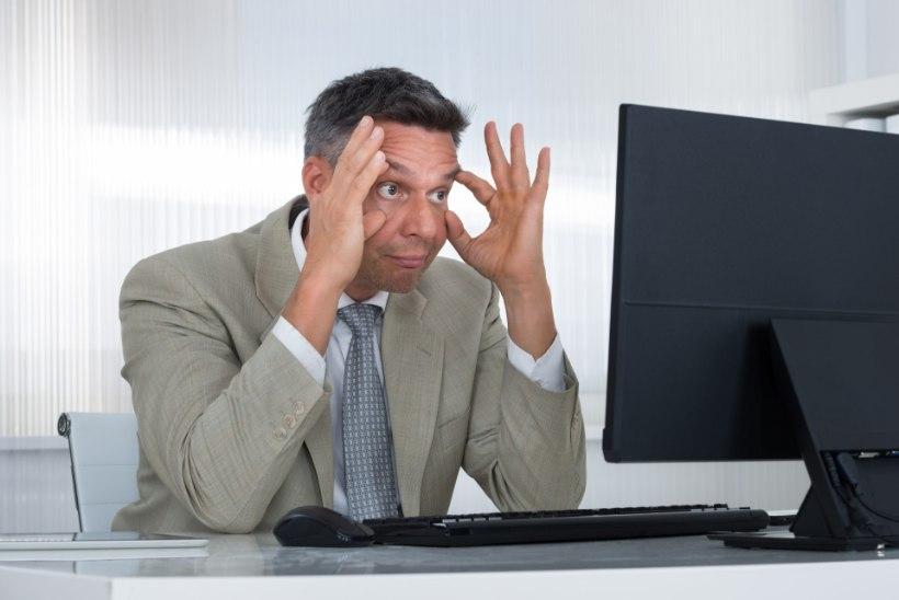 Säästa kontoris silmi: sea arvuti õigele kõrgusele ja kontrolli valgustust