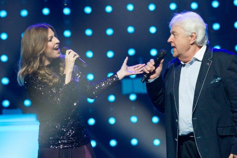 PALJU ÕNNE! Eesti Laulu poolfinaalis Eurovisionil käinud Elina Born ja vanameister Ivo Linna, 8 minutit hilinenud Daniel Levi ja viiendat korda osalev Laura Põldvere!