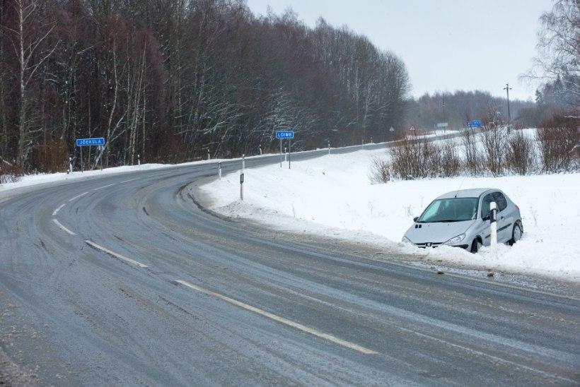 Kuidas talvistel teedel liiklusõnnetusi ennetada?