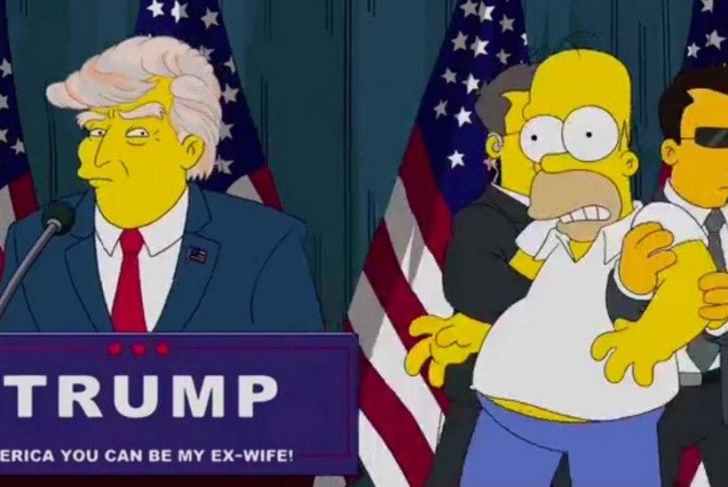 """""""SIMPSONITE"""" ENNUSTUS LÄKSKI TÄPPI! 16 aastat tagasi ennustati, et Trump saab presidendiks"""