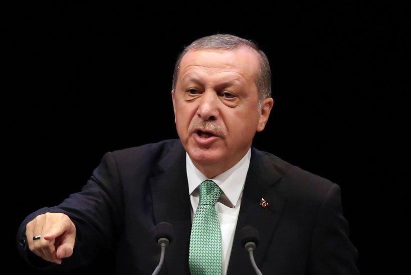 Türgi president esitas Euroopa Liidule väljakutse liitumiskõneluste lõpetamiseks