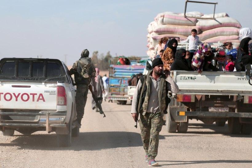 USA koalitsiooni õhurünnakus sai Süürias surma 16 tsiviilelanikku