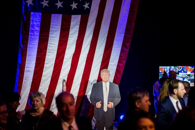 REPORTAAŽ USA SAATKONNA VALIMISPEOLT: Ameerika lipu taustal valiti jänkidele uus president