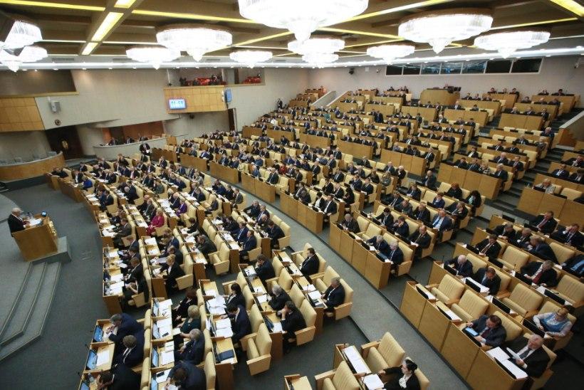 Niinistö ja Putin õnnitlesid Trumpi, Vene riigiduuma aplodeeris