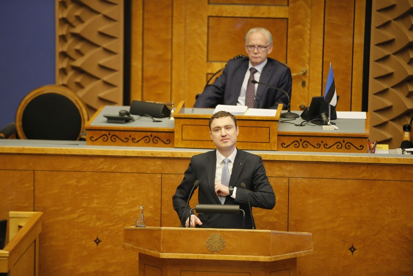 Taavi Rõivas riigikogu ees: raske on leida Eesti ajaloost valitsust, kes oleks pooleteise aastaga suutnud enamat
