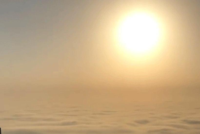VIDEO | Haruldane vaatepilt ehk Dubai kroonprints jagab hingematvaid kaadreid pilvelõhkuja tipust