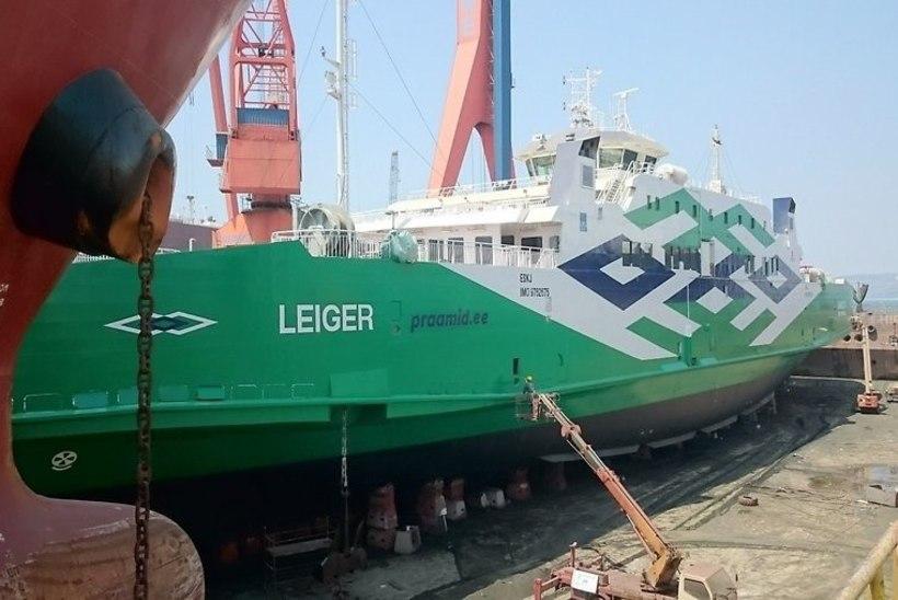 Leiger jõudis viimaks Kuivastu sadamasse