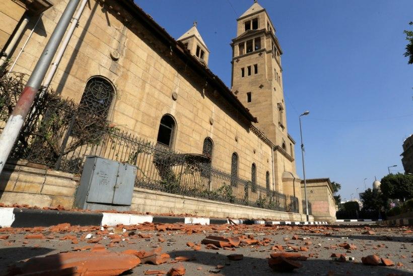 Kairo kirikus plahvatas pomm, hukkus vähemalt 25 inimest