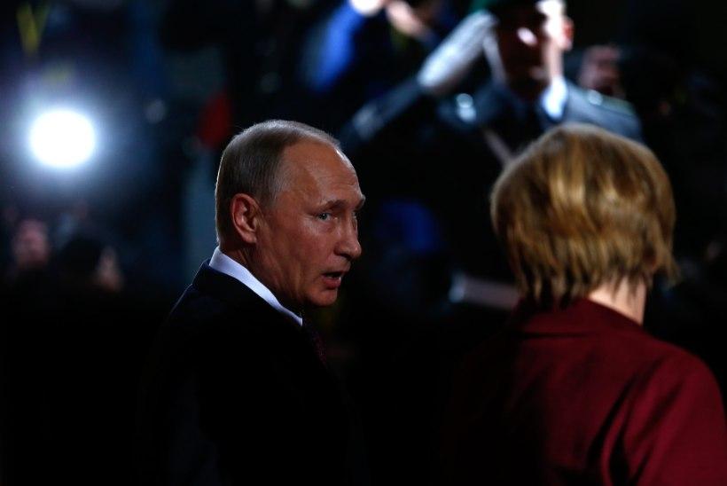 EKSPERDID HOIATAVAD: Putin peab Merkeli kukutamiseks hübriidsõda
