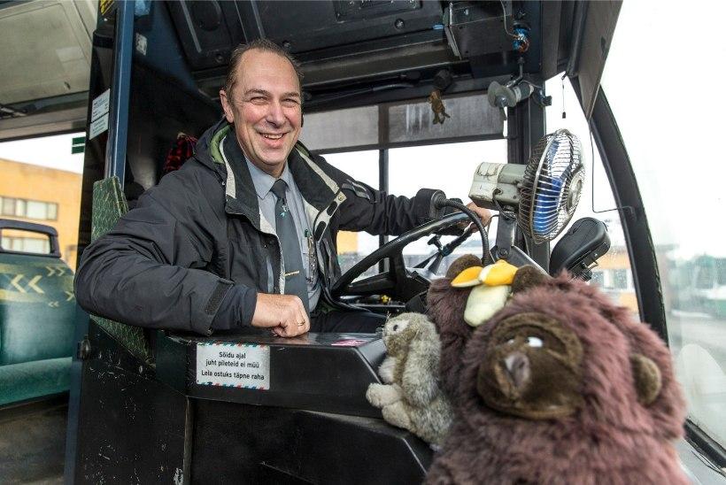 Sõbralik bussijuht Rudolf: peaaegu kõik sõitjad on tuttavad