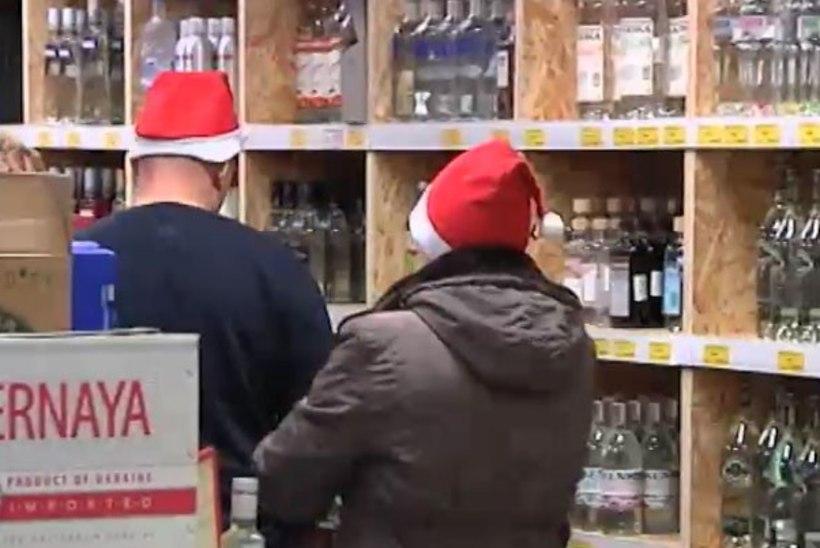TV3 VIDEO   Ikla piiripunktis käib pühade-eelne alkoholisagin