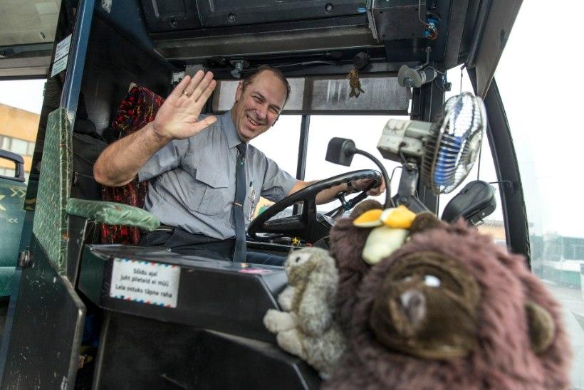 Tallinna sõbralikuim bussijuht: peaaegu kõik sõitjad on mulle tuttavad!