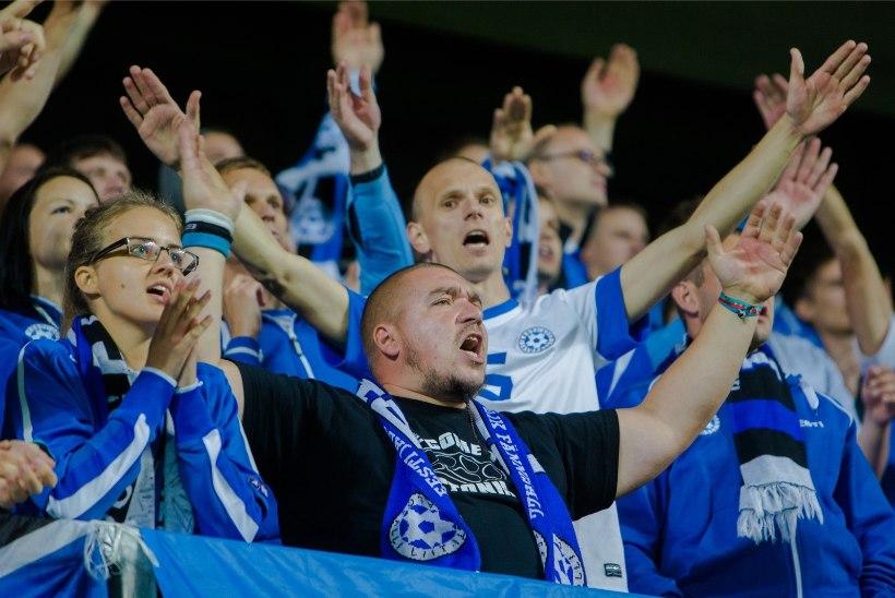 Eesti Jalgpalli Liit teenis tänu suurepärasele fännikultuurile üle-euroopalist tunnustust ja rahalise preemia