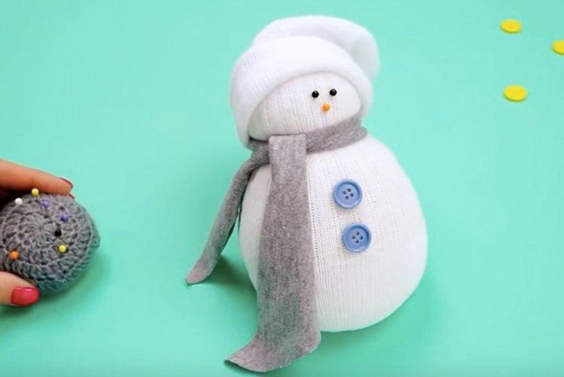 Vahva meisterdus: tee sokist lumememm