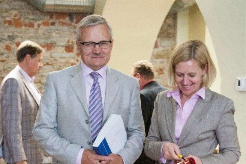 Maaeluminister Tarmo Tamm kohtus Maag Grupi nõukogu esimehe Roland Lepaga