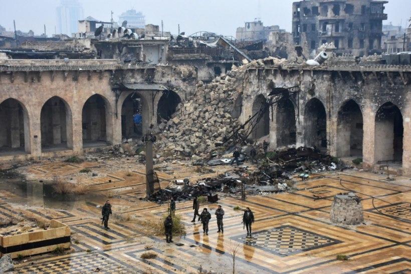 FOTOD SÕJAJÄRGSEST ALEPPOST   4000 aasta vanusest maailmapärandist on alles vaid varemed