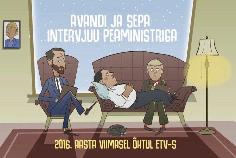"""""""Tujurikkuja"""" tandem Ott Sepp ja Märt Avandi intervjueerivad aastavahetusel peaministrit"""