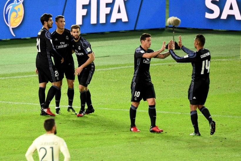 Madridi Real jõudis üleajal löödud väravate abil klubide MMi finaali