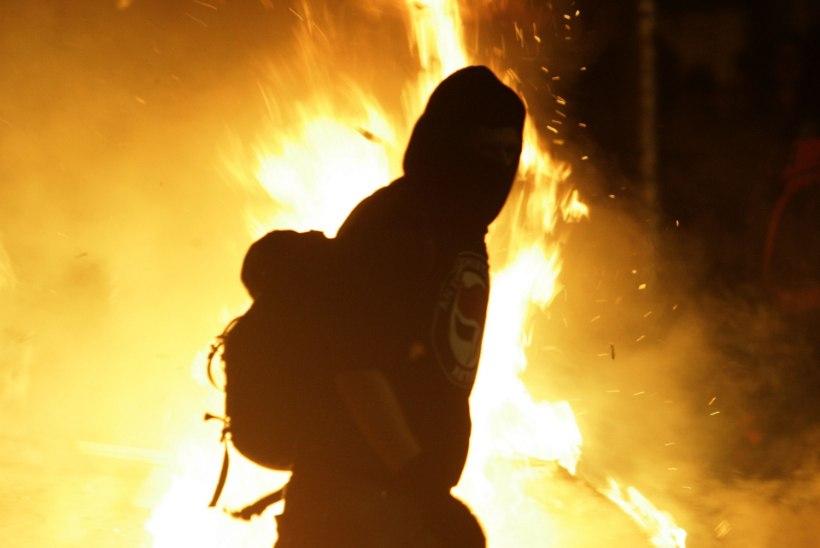 Kolm last põletasid kodutu surnuks