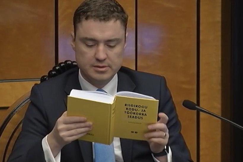 TV3 VIDEO | Vaata, kuidas kommenteerib riigikogu kodukorra eest vastutav Rõivas Millingu purjutamist ööistungil