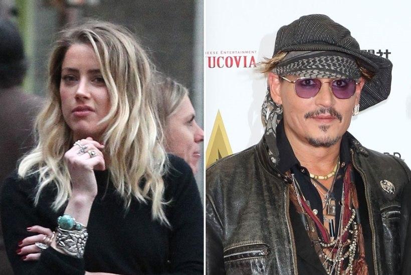 Johnny Depp on jätnud seitse miljonit dollarit Amber Heardile tasumata