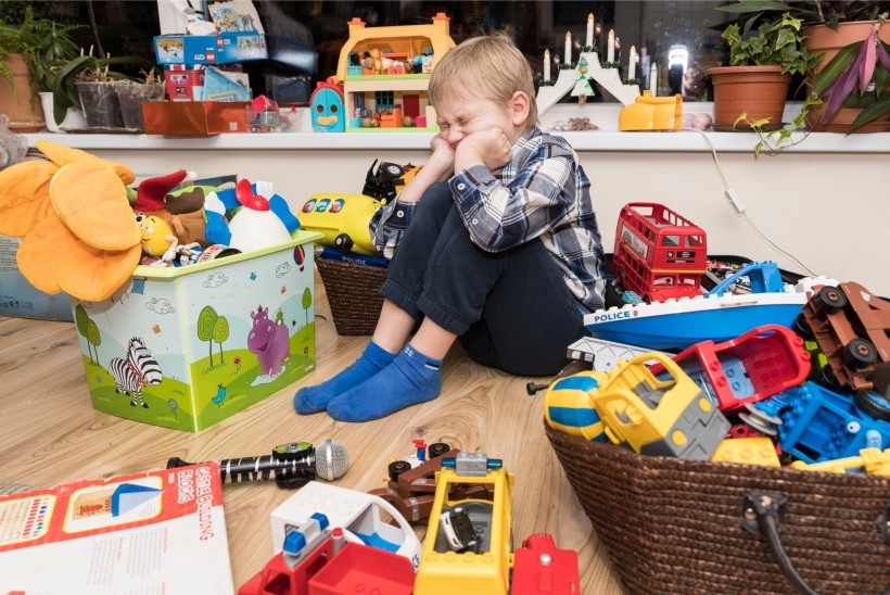 Kui palju mänguasju on paras? 475 vidinat ja 55,1 kilogrammi