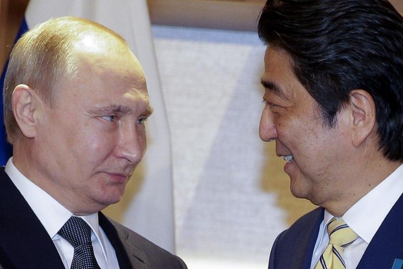 FOTOD   Putin jäi Jaapanisse ligi kolm tundi hiljaks