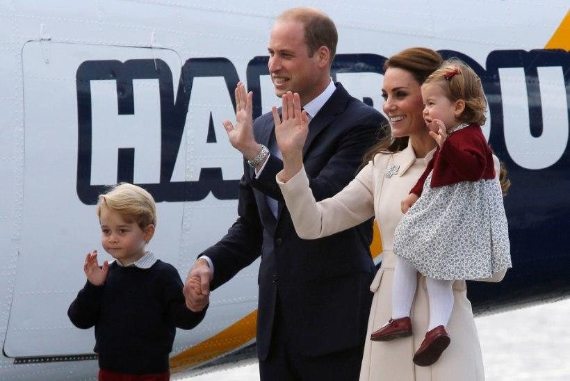 Kelle jalas on püksid? William ja Kate veedavad lastega jõulud naise ema juures