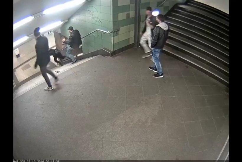 Berliinis noore naise trepist alla tõuganud mees osutus mustlaseks