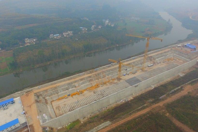 Hiinlased alustasid uue Titanicu ehitamist