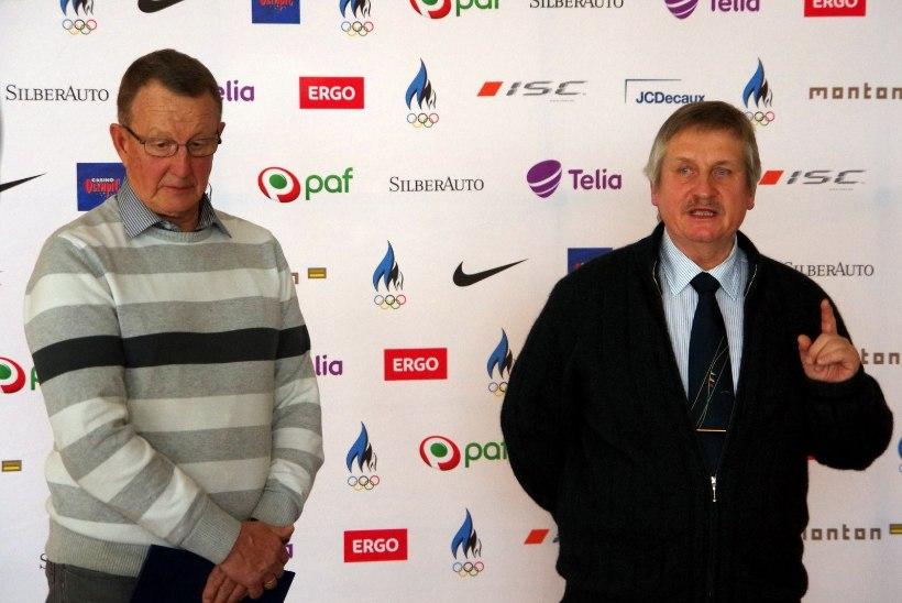 Teenekad treenerid Matti Killing ja Rein Ottoson teenisid ajaloolise tunnustuse