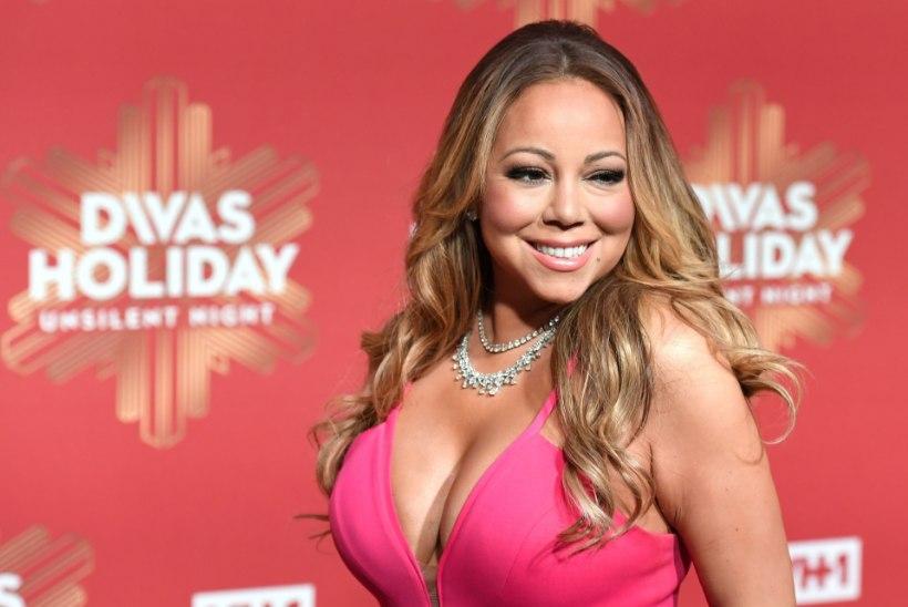 DIIVA RINNAD: Mariah Carey büst ei mahtunud telesaates rõivastesse ära...