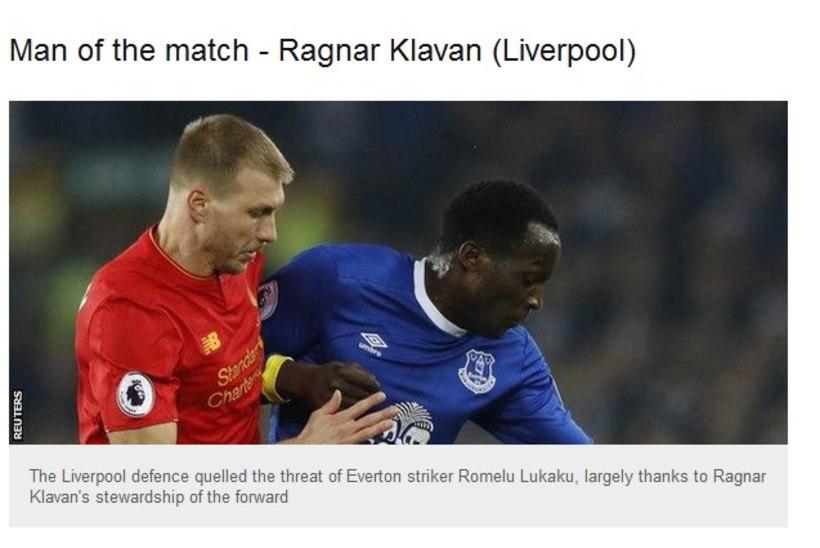 BBC: Klavanist paremat meest platsil polnud!