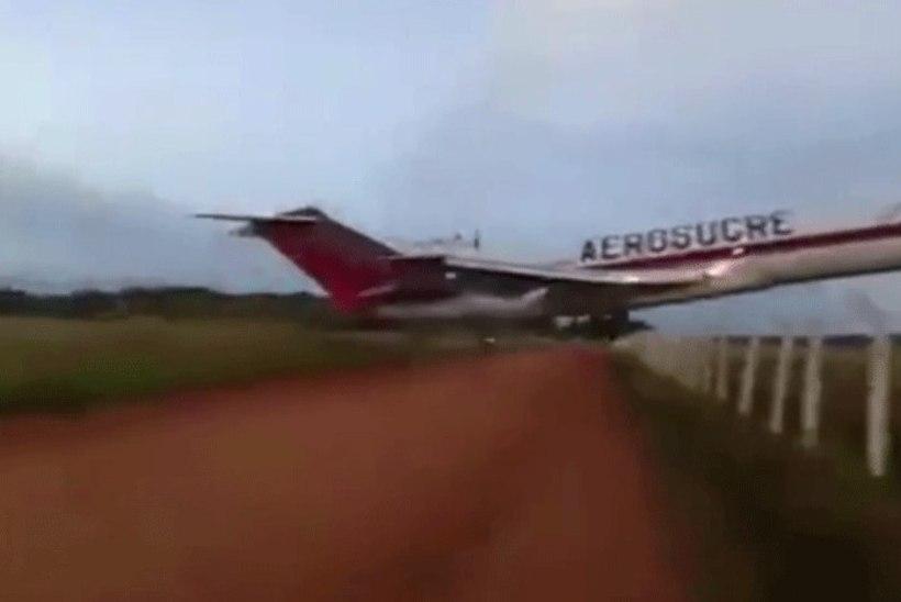 VIDEO | Colombias sõitis lennuk rajalt välja, hukkus viis inimest