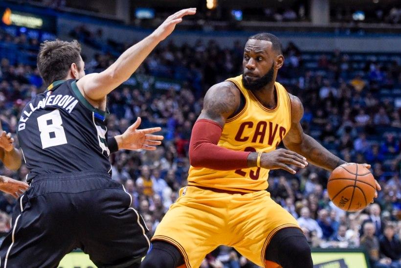 VIDEO | LeBron James möödus järjekordsest NBA legendist ning rühib jõuliselt kõige teravamasse tippu