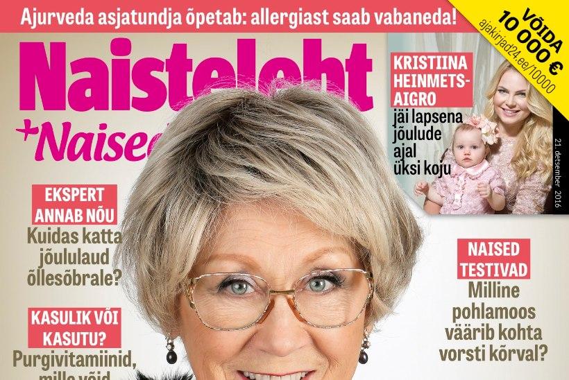 Kristiina Heinmets-Aigro jäi lapsena jõulude ajal üksinda koju