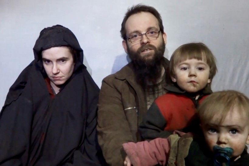 Afganistani mässuliste rühmitus avaldas video 2012. aastal röövitud Põhja-Ameerika paarist