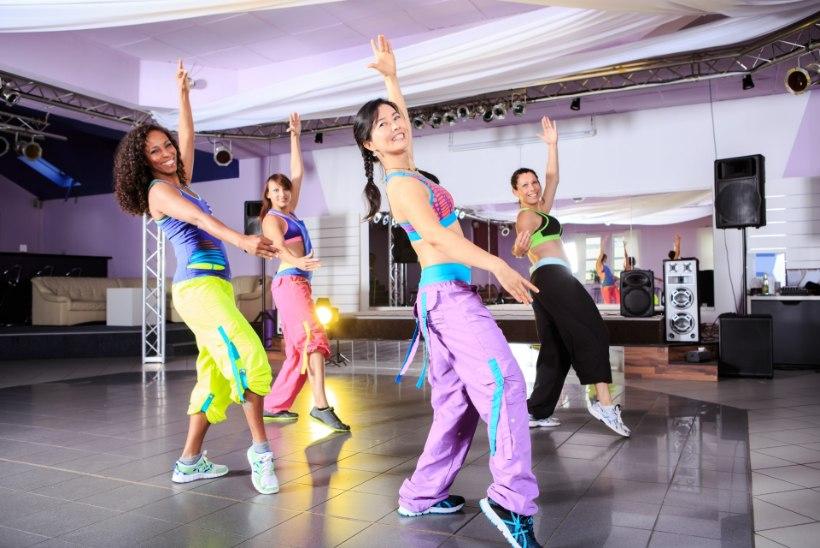 ZUMBATAMA! Tantsides tuju heaks ja keha energiaga laetuks!