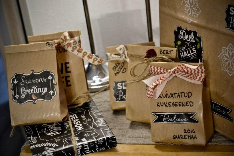 BLOGI! Teistmoodi pakitud kingitused: kuidas ära kasutada olemasolevaid vahendeid?