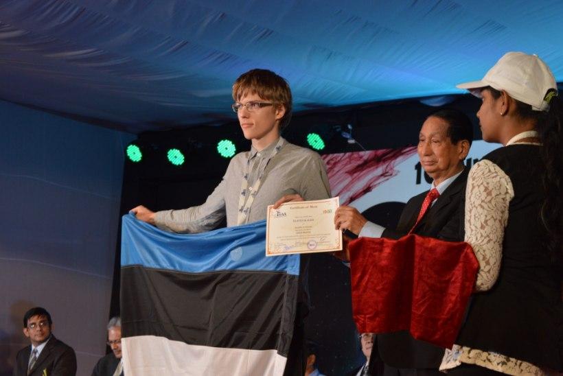Eestlane sai Indias toimunud astronoomiaolümpiaadil kuldmedali