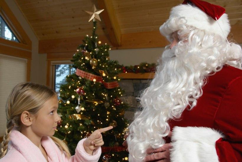 Jõulud on ka siis muinasjutulised, kui isa jõuluvana mängib