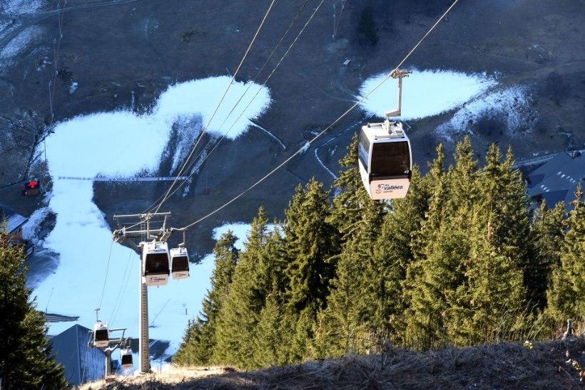 Itaalia Alpides päästeti 2500 meetri kõrguselt köisraudteelt 150 suusatajat